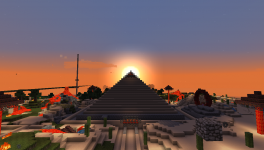 Pyramid of the rising sun