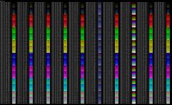 Color escape sets for bash