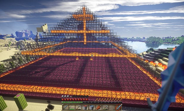Glass pyramid - optifine shaders
