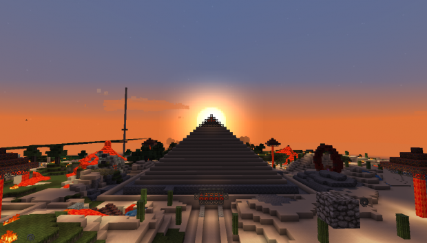 Pyramid of the rising sun