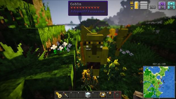 MC 1.7.10 - AoA mod, goblins