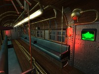 Shinra Subway Car