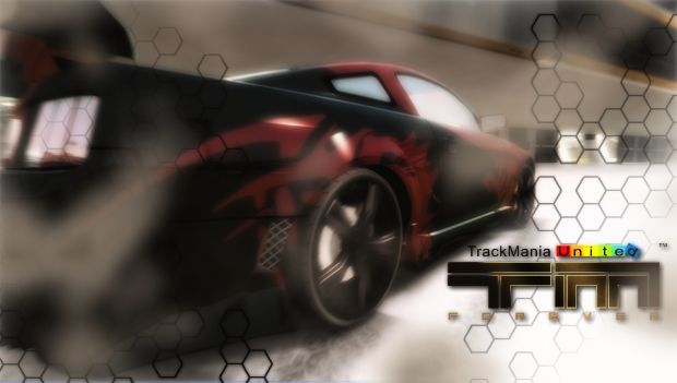 TrackMania United Forever Mustang Wallpaper