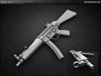 Untextured MP5