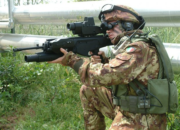 """Italian modernization program """"Soldato Futuro"""""""