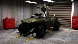 Halo Warthog Concept