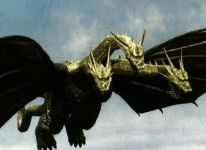 King Ghidorah Fly