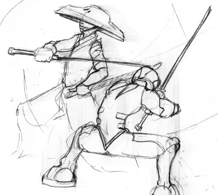 Concept Art for Berimbau