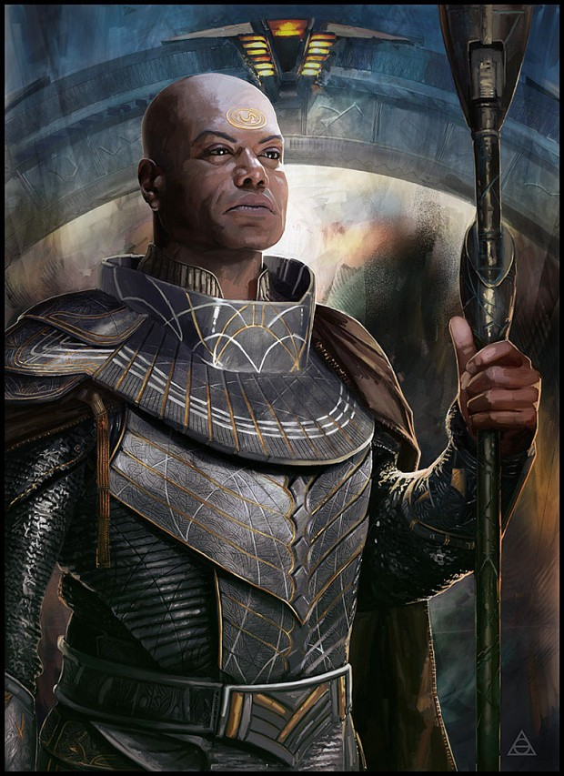 Awesome Concept Art of Teal'c