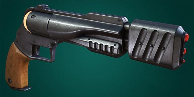Satedan Armour / Ronon Dex weapons