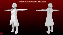 [B] Character Modeling Progress