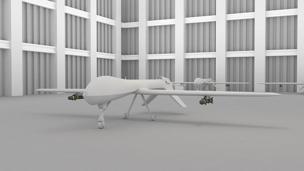 [B] MQ-1 Predator UAV