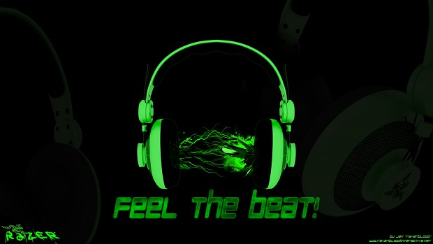 Razer - Feel the Beat! [Wallpaper]
