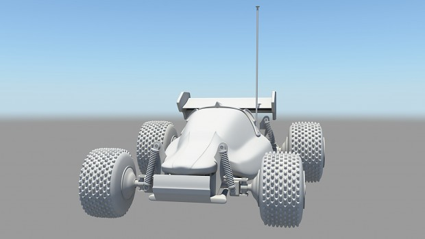 [Maya] RC Car Model
