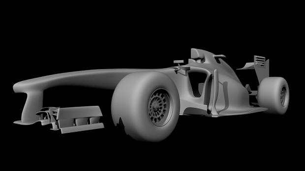 McLaren MP4-28 [Maya - WIP]