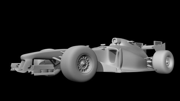 McLaren MP4-28 [Maya - Final Model]