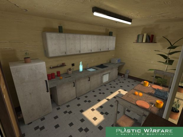 Plastic Warfare, Kitchen Map Picture
