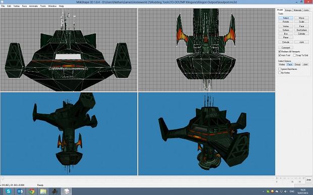 WIP TMP Klingon Outpost