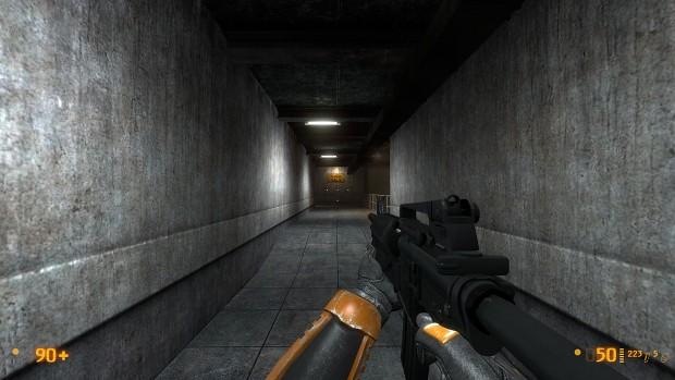 M4A1 for black mesa