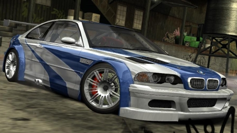 bmw from nfs most wanted