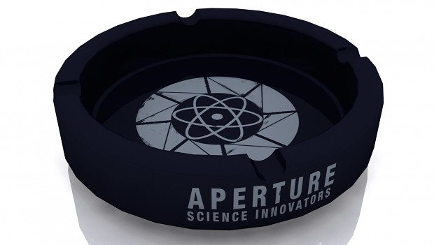 Aperture Science - Vintage Ashtray