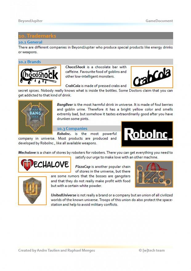 GameDoc: Trademarks