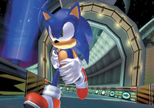 Sonic(and Headache puppy)