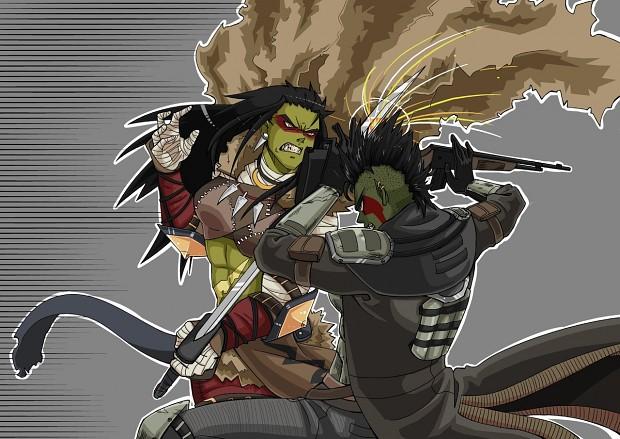 Orc Combat