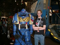 Dutchy and Space Marine