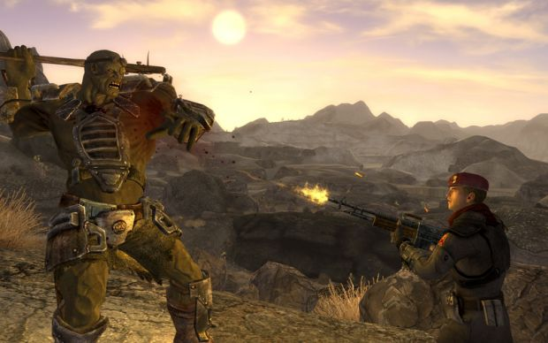 a pic from fallout new vegas