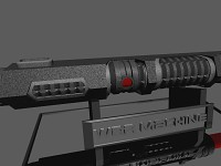 3D - War Machine Lightsaber