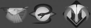 Dune House logo's