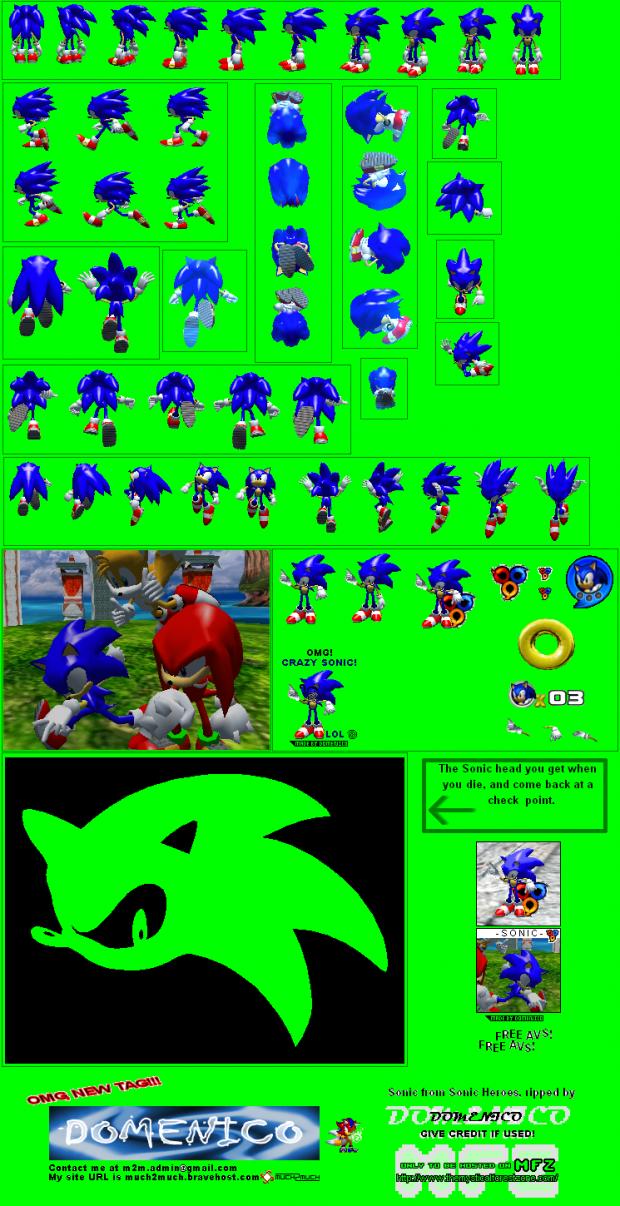 Sonic Sprites Image Stevethehedgehog Mod Db