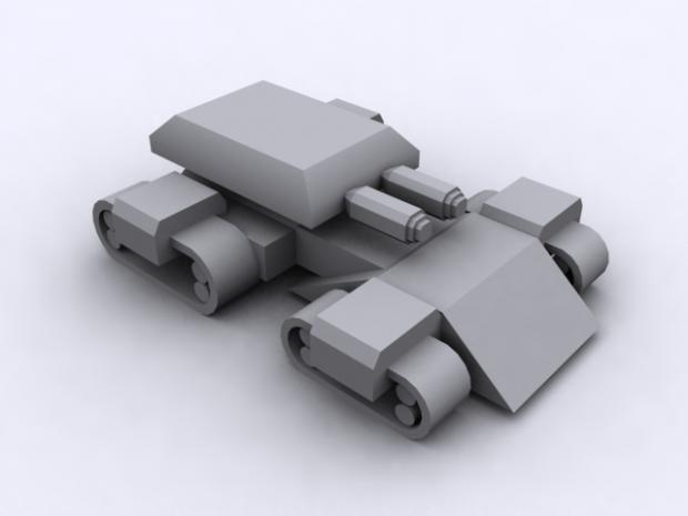 Arclite Siege Tank 3D