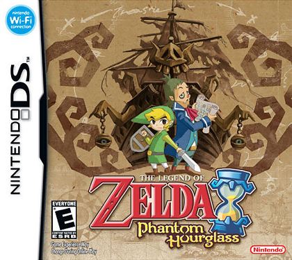 Legend of Zelda: Phantom Hourglass Cover