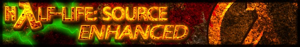Old Half-Life: Source Enhanced Banner