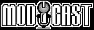 modcast logo concept