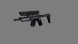 C&C Renegade submachine gun