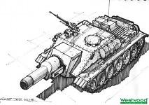 Tank killer concept art