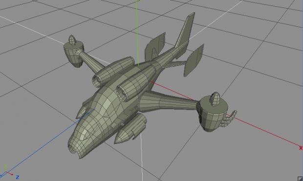 Attack Chopper WIP