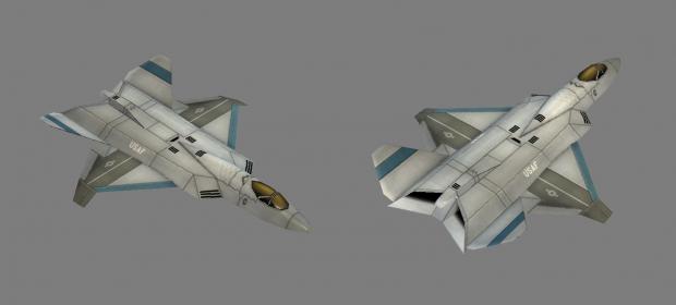 C&C Generals: F-22 Raptor (concept version)