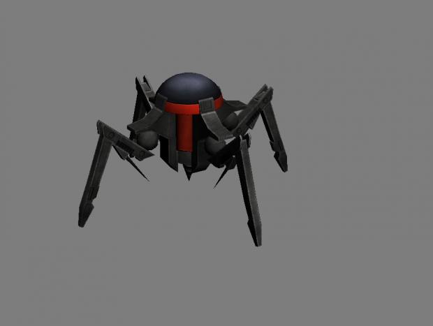 Terror Drone textured