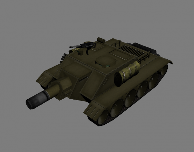Tank killer model textured