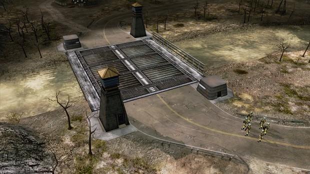 Bridge gate house (TS)
