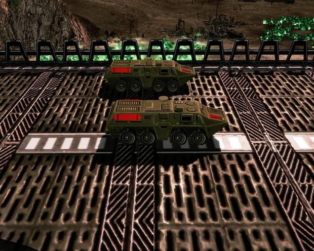 Troop crawler