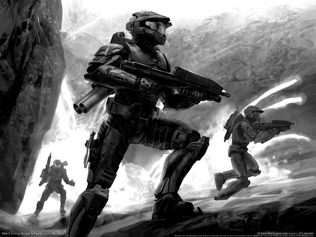 Halo 3 edited Pictures