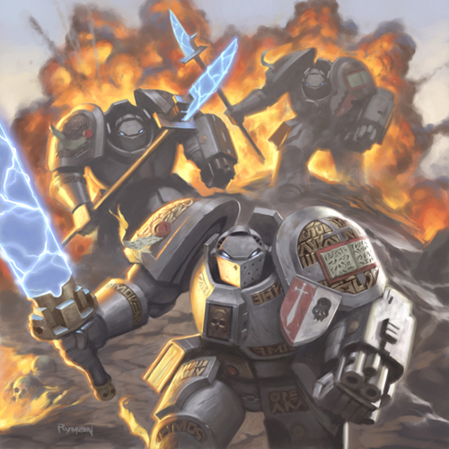L'Universo di Warhammer 40.000 - I Cavalieri Grigi