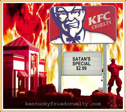 Kfc is evil