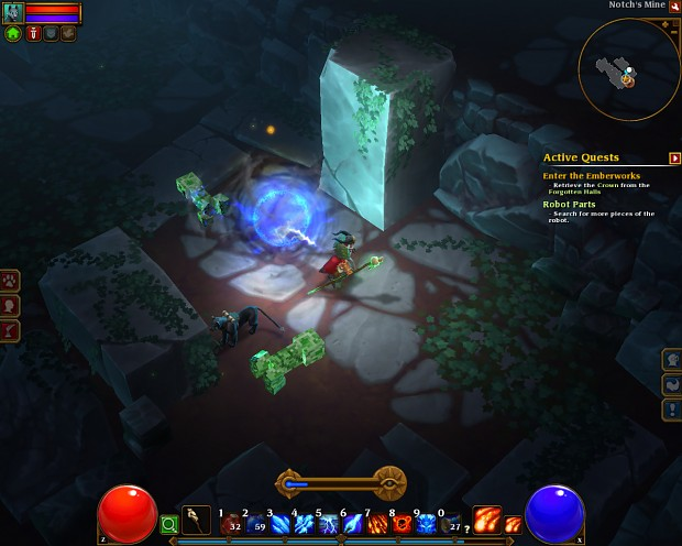 Notch's Mine in Torchlight 2