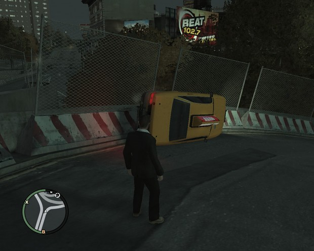That's why you don't hail a cab... in GTA IV
